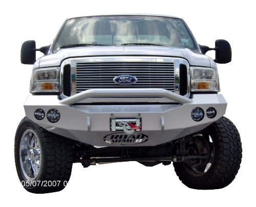 Road Armor - Road Armor 66004B Satin Black Front Stealth Winch Bumper with Pre-Runner Guard for Ford Super Duty