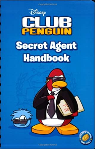Secret Agent Handbook Disney Club Penguin Katherine Noll