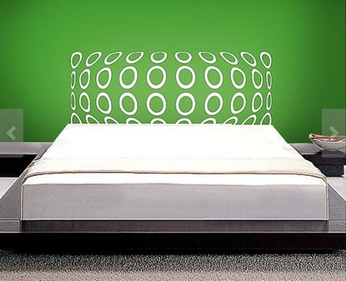 headboard-wall-decal-queen-full-double-twin-size-bed-3d-circles-circle-3-dimensional-christmas-gift-