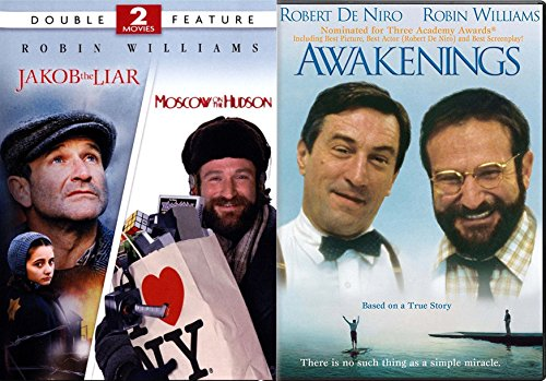 Moving Story 3 Robin Williams True Movie Awakenings & Jakob the Liar & Moscow on the Hudson Triple Feature set