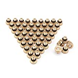 Greatstar 0.3 mm Brass Misting Nozzles for Garden Patio Lawn Landscaping Dust Control and Outdoor Cooling Mister System, 10/24 UNC (50pcs)