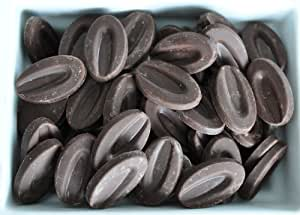 Valrhona Grand Cru Dark Chocolate Caraibe 66% Feves (oval discs) - 2lbs