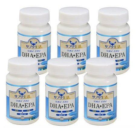 サプリ生活 DHA+EPA 150粒 6個セット B016A5DUYQ