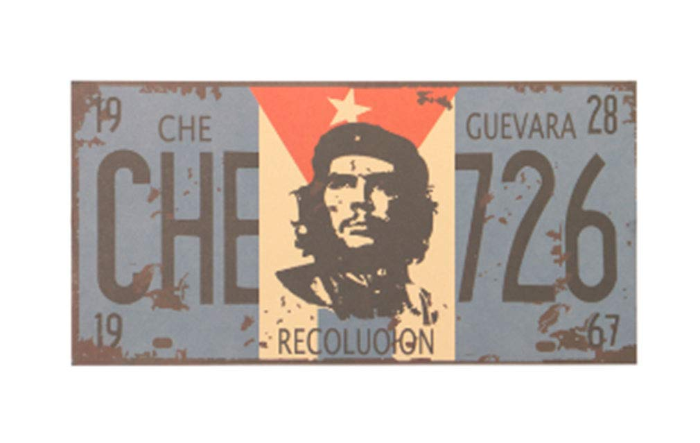AccessCube 2 PCs Che Guevara et Affiche Ré tro de Cigares Affiche de la Ré volution de Cuba Ré volution Autocollant Mural Guevara Kraft (Che Guevara et Cigar)