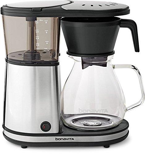 Bonavita Glass BV1901GW 8-cup Coffee Brewer w/hot plate US