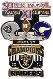 Super Bowl XI Oversized Commemorative Pin