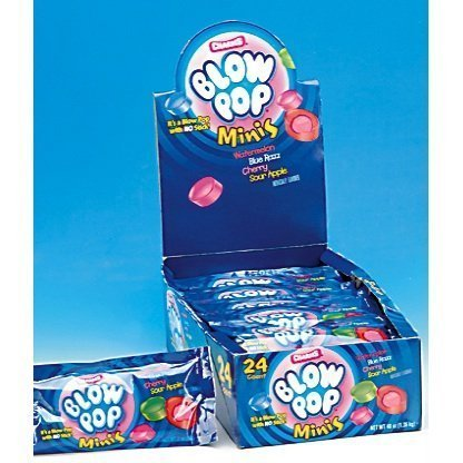 Charms Blow Pop Mini's (Pack of 24) (Charms Mini Pops)