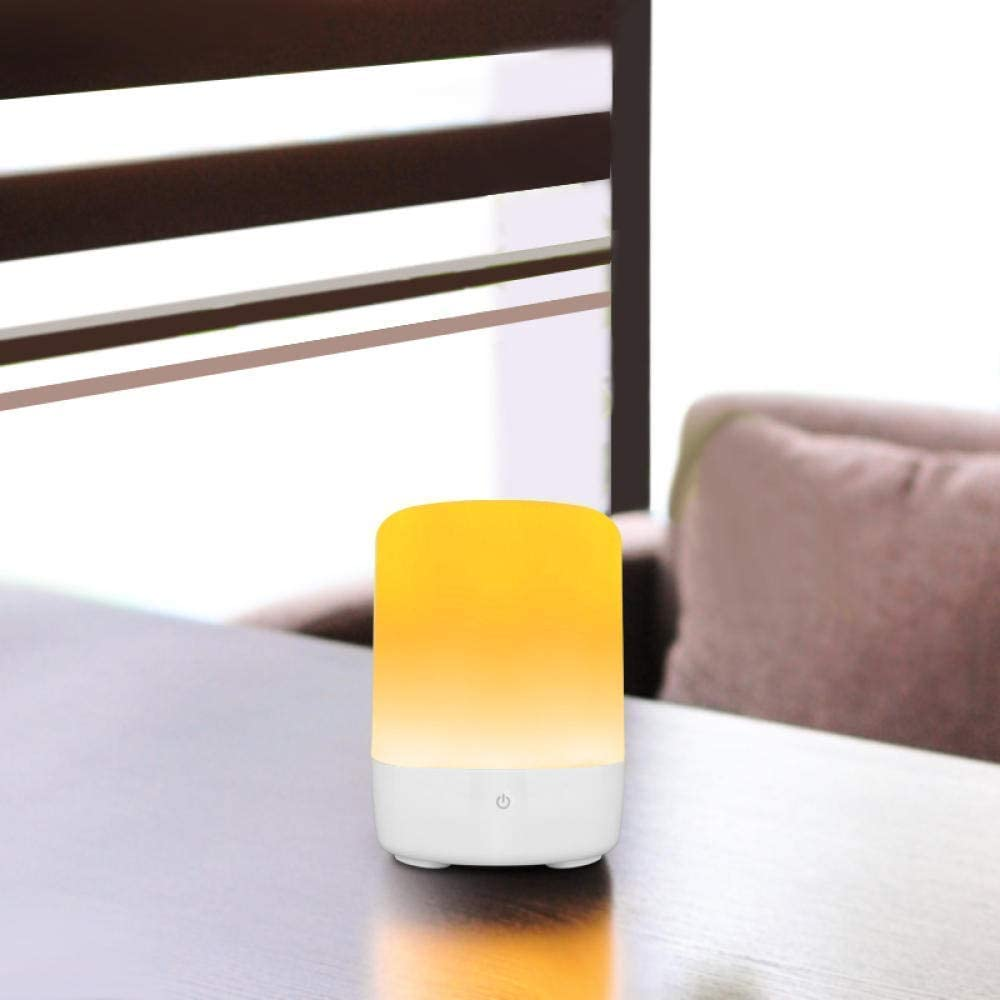 Touch Bedside Lamp Smart RGB Led Atmosphere Light Touch Sensor USB Charging Table Night Light
