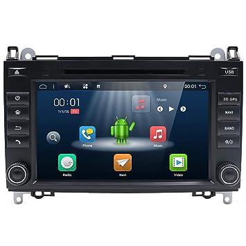Estéreo para automóvil con Android 7.1, unidad principal 2 Din, 2G 16G Autoradio con
