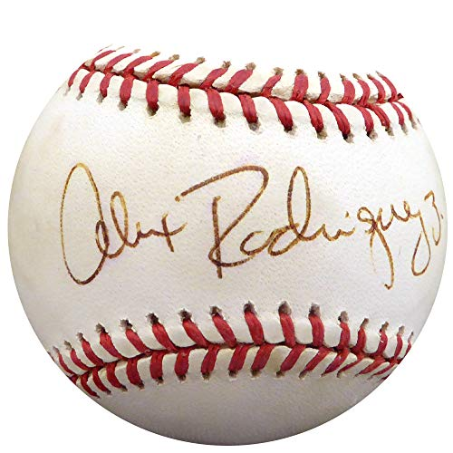 Alex Rodriguez Autographed Signed Memorabilia Official Al Baseball New York Yankees, Seattle Mariners 3 Vintage Rookie Era - Beckett Authentic