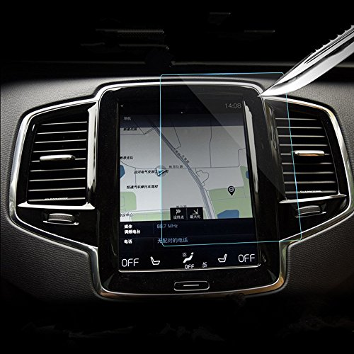 Volvo Car Navigation Screen Protector Glass,Gycinda The Original Car Navigation Volvo V90 XC90 S90 180135mm Glass Screen Protector, 9H Hardness Stronger Resistance Toughened Glass Film