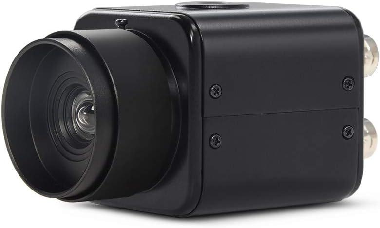 MOKOSE Mini SDI Camera with 3.6mm HD No Distortion Lens, HD-SDI 2 MP 1080P HD Digital CCTV Security Camera, 1/2.8 High Sensitivity Sensor CMOS with OSD Menu