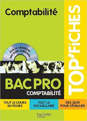 Amazon Fr Top Fiches Comptabilite Bac Pro Comptabilite Lemot Eric Delos Alain Livres