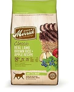 Merrick Classic Real Lamb, Brown Rice & Apple - 5 lbs