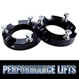 Prime Choice Auto Parts LK2361L2AB Front Leveling Lift Kit Spacer 2 Inch Aluminum Black
