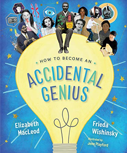 Book Cover: How to Become an Accidental Genius