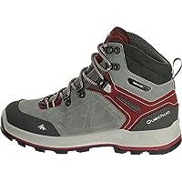 QUECHUA FORCLAZ 500 HIGH Women's Waterproof Walking Boots - Grey