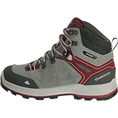b71f8b17897 QUECHUA FORCLAZ 500 HIGH Women's Waterproof Walking Boots - Grey