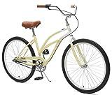 Critical Cycles Womens 3-Speed Chatham-3 Beach Cruiser Bike, 26-Inch