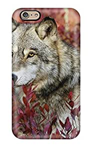 Cute Appearance Cover/tpu LfgJUgf9121WBpls Animal Wolf Case For Iphone 6