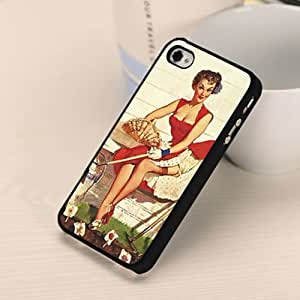 Retro Marilyn Monroe Hard Plastic Back Case Cover Skin For Apple iPhone 5 5S WHD365 (6)