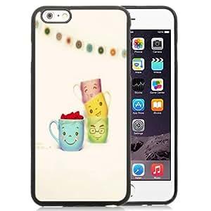 New Personalized Custom Designed For iPhone 6 Plus 5.5 Inch Phone Case For Cute Cartoon Mugs Phone Case Cover wangjiang maoyi