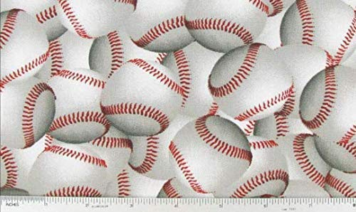(WINDOW CURTAIN VALANCE MADE FROM Baseball Summer Ballgame Sports Cotton FABRIC)
