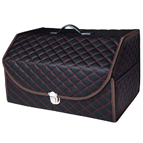 BingooPan Trunk Organizer for Car Organizers and Storage Trunk Organizer Collapsible (Large)