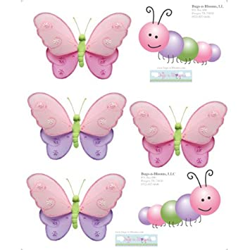2 Pieces Beautiful Children Girl Stickers Toys Rose Sticker Butterfly Sticker Children Reward Stickers Toys For Child Girl Gifts Stickers Classic Toys