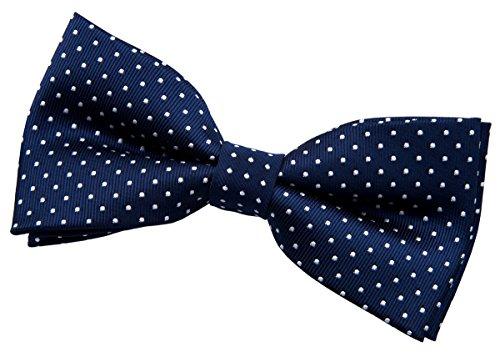 - Retreez Modern Mini Polka Dots Woven Microfiber Pre-tied Bow Tie (4.5