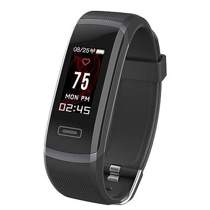 ELEPHONE - Reloj Deportivo Inteligente, Impermeable, B5, Monitor de Actividad física, Pulsera