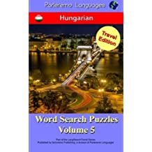 Parleremo Languages Word Search Puzzles Travel Edition Hungarian - Volume 5