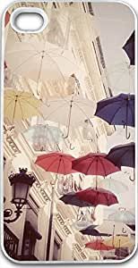 iPhone 4S Case Snap on iPhone 4S Back Cover Skin Slim Fit Protective Fly umbrella