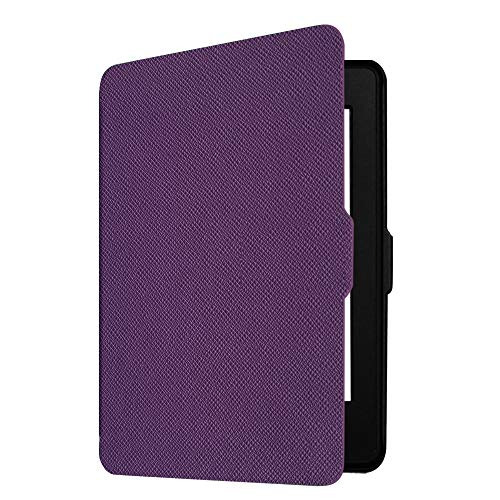 Fintie Slimshell Case for Kindle Paperwhite - Fits All Paperwhite Generations Prior to 2018 (Not Fit All-New Paperwhite 10th Gen), Violet