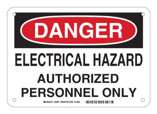Electrical Hazard Sign - 1