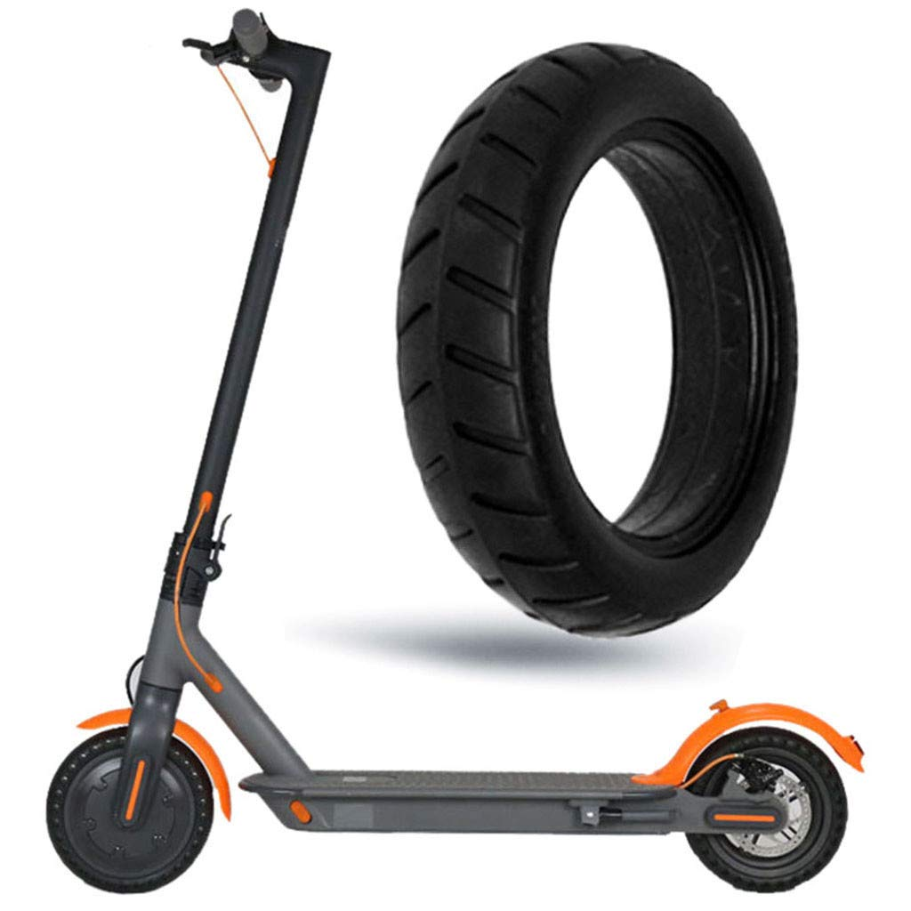 kitt Electric Scooter Solid Tube Tires 8 1/2x2 Thick Wheel Tyres Abrasion Resistant and Anti-Slip for Xiaomi M365 and Pro M365 Scooter Pro Accessories by kitt