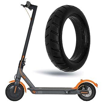 MAMaiuh - Neumáticos para scooter eléctrico, tubo sólido, 8 ...