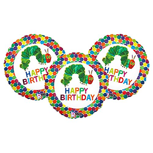 Set of 3 Happy Birthday The Very Hungry Caterpillar Eric Carle 18