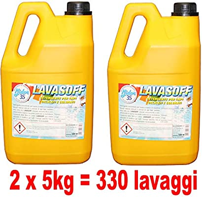 lavasoff, 2 x 5000ml Detergente para ropa en lavadora para Capi ...