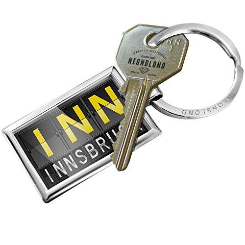 Keychain INN Airport Code for Innsbruck - (Inn Port)