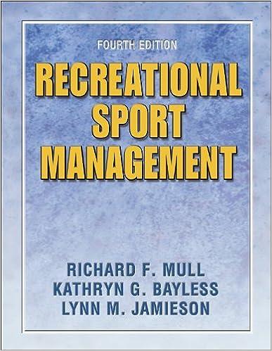 Amazon recreational sport management 4e 9780736051316 recreational sport management 4e 4th edition fandeluxe Gallery