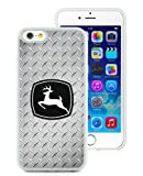 John Deere White Phone Case for iPhone 6S 4.7 Inch,iPhone 6 TPU Case