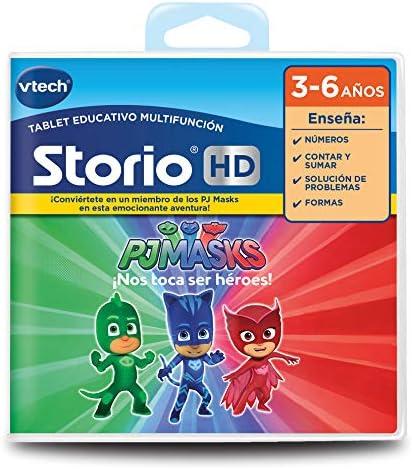 VTech- Cartucho para Storio, PJ Mask (3480-271122) , color ...