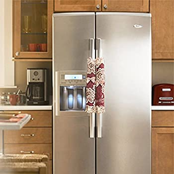 KAIL Refrigerator Door Handle Covers Keep Your Kitchen Appliance Clean From  Smudges, Fingertips, Drips