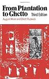 From Plantation to Ghetto, August Meier and Elliott Rudwick, 0809001225