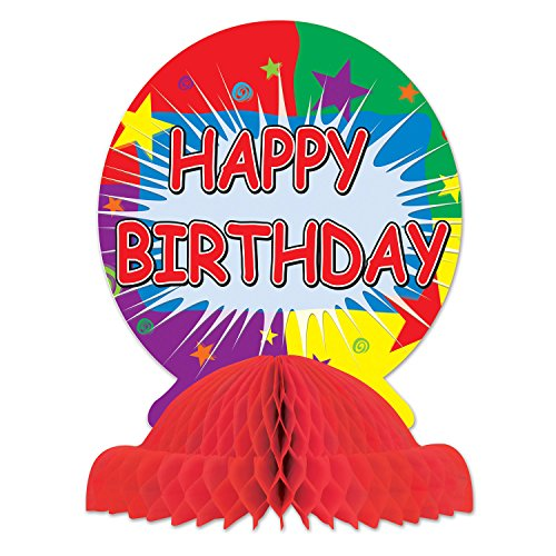 Centerpiece Party Birthday Table (Happy Birthday Centerpiece Party Accessory (1 count) (1/Pkg))