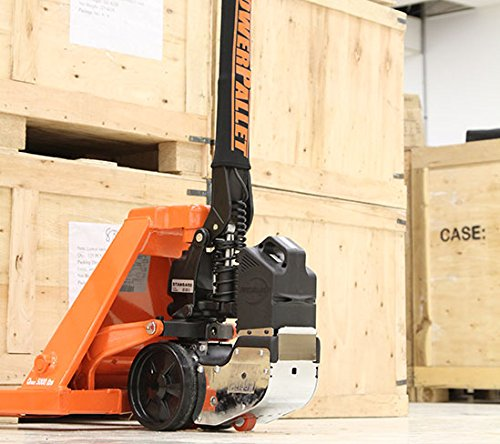 PowerPallet 2000 Mounted Kit: 3,500 pound rated 27'' x 48'' electric pallet jack by PowerPallet (Image #2)