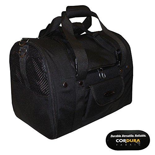 Celltei Backpack-o-Pet - Cordura(R) Black - Medium Size