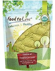 Organic Moringa Leaf Powder, 1 Pound - Non-GMO, Kosher, Raw, Vegan, Bulk, Ground Moringa Oleifera Leaf, Sun-Dried, Great for Drinks, Teas and Smoothies