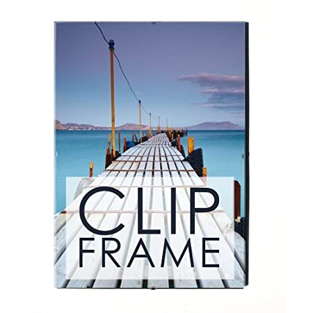 Perspex Clip Frames 19 Standard Sizes In Stock Great Prices 70 X